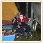 Alessandro, Clarisa, Alberto, Laura e il nostro amico Babbo Natale Gino