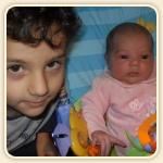 Gabriel e la sua sorella Matilda!