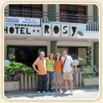 Fabio e Katia i 1° clienti del BBocca Rosy che hanno prenotato per la prima volta per noi e per loro con un sms