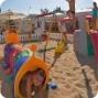 Animation pour enfants  à la plage