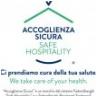 ACCOGLIENZA SICURA-SAFE HOSPITALITY Durante le vostre vacanze verranno rispettati tutti i protocolli anti CORONA VIRUS