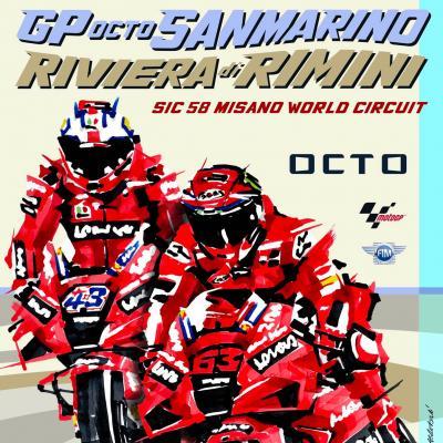 Moto GP 17-19 Settembre 2021 Misano Adriatico Italia