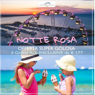 Rimini Speciale Notte Rosa 3 giorni All Inclusive